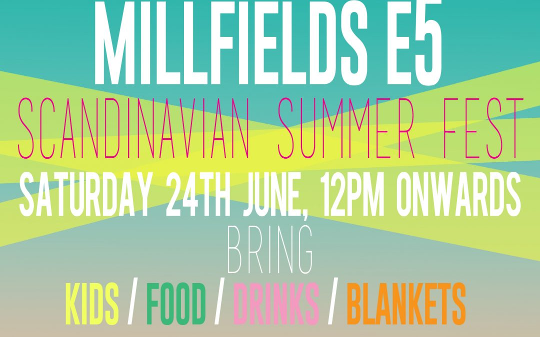 Midsummer Party, Saturday 24th of June 2017!