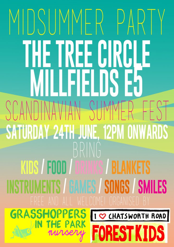 Midsummer Party Poster