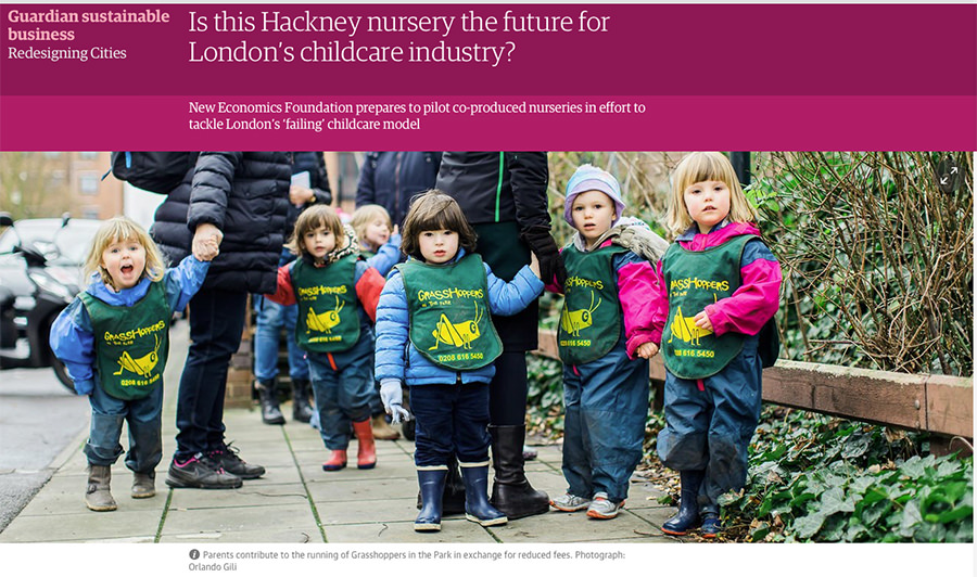 We were in The Guardian!