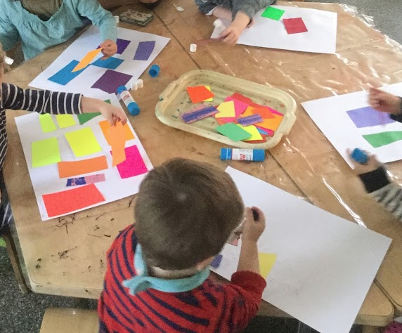Art Hoppers –  Looking at 'The Snail' by Henri Matisse